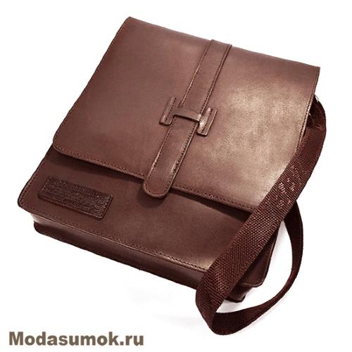 eb032b410c3a Мужская сумка через плечо из натуральной кожи BB1 940082 светло ...