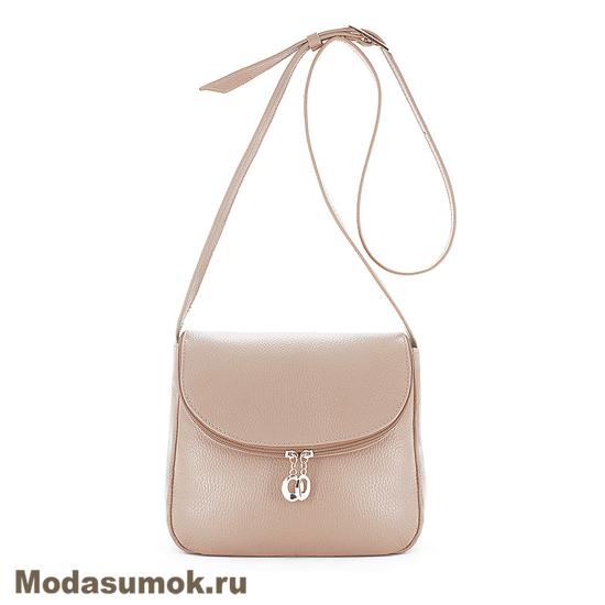 a162509cfa42 Женская сумка из натуральной кожи Protege Ц-258 пудра купить в ...